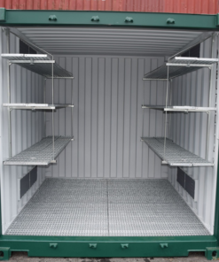 Industrial Shelving System Front